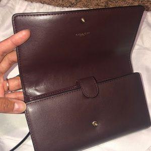 Coach Bags - Coach wallet/ crossbody convertable👻🍁